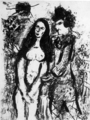 Le Clown Amoureux by Marc Chagall
