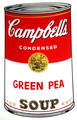Campbell's Soup - Grean Pea by Andy Warhol