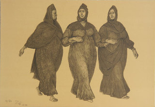 Impresiones de Egipto, Plancha 3 (Impressions of Egypt, Plate 3) by Francisco Zuñiga