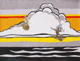 Rain or Shine (after R. Lichtenstein) by Jirapat Tatsanasomboon