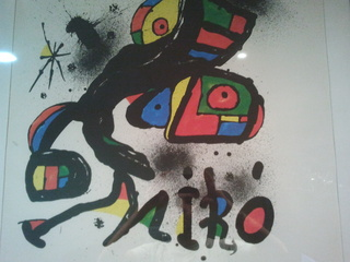 Homenaje a gaudi by Joan Miró