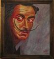 Portrait of Salvador Dali by Salvador Dalí