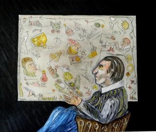 The Art Critic by Ramon Carulla