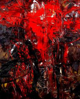 Abstract Painting OF-A23 by Oleg Frolov