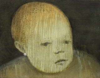 Baby with the Pearl Earring by Tony Hull