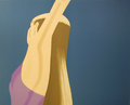 Night: William Dunas Dance 1 by Alex Katz