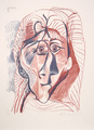 Visage de Femme de Face by Picasso Estate Collection