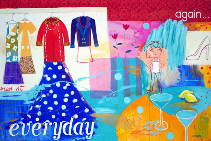 Everyday by María Burgaz