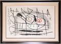 Couple D'Oiseaux II by Joan Miró