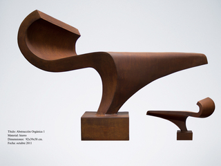 Organic abstraction 1 by Roberto Canduela Luengo