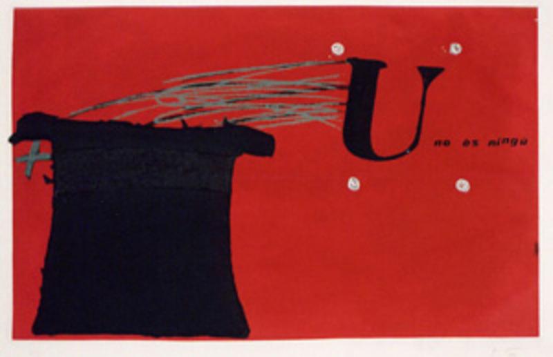 U No Es Ningu Original Art By Antoni T 224 Pies Picassomio