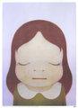 Cosmic Girl ( Eye closed) by Yoshitomo NARA