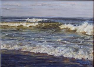 Sea later by Rosario de Mattos