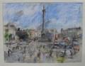 Trafalgar Square by Anthony Eyton