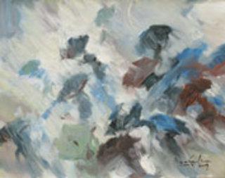 Braving Through the Rain by U Lun Gywe