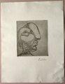 Sculpteur Profil de Marie Therese by Pablo Picasso