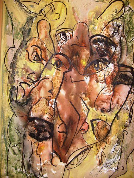 CONVULSION I by CARMEN PEÑA