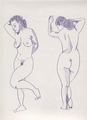 Two nudes by anna gener esteve