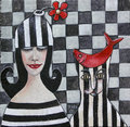 cuadro cuadrado by Mariela Dimitrova MARA