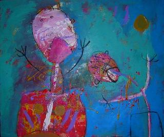 Los cantantes by Jaime Lupercio