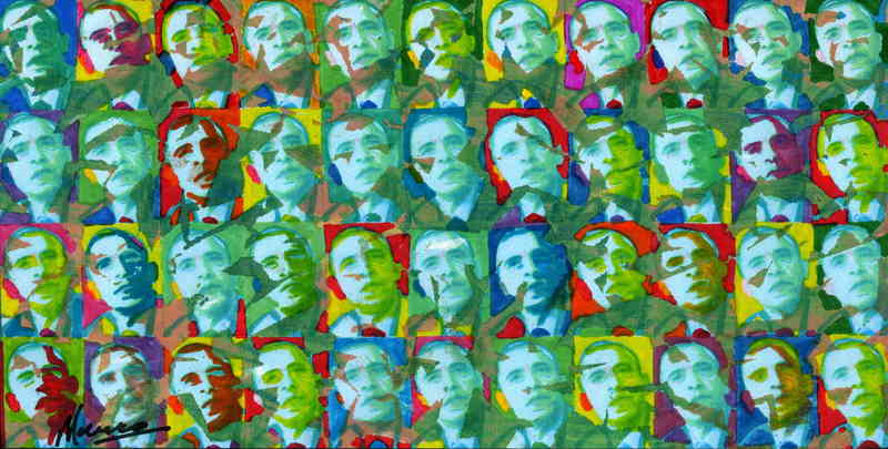 44 President Obamas by Marco Mark
