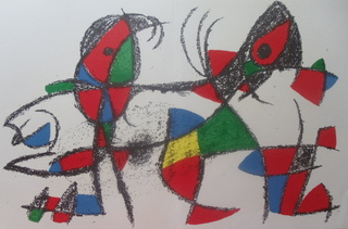 Original lithograph for Miro Lithographs II by Joan Miró