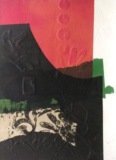 Original print for Poster of Matsuzakaya Gallery by Antoni Clavé