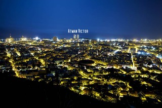 Santa Cruz Tenerife city (night view) 2 by Jose Luis Mendez Fernandez