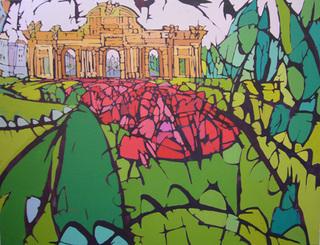 Jardín en la puerta by Alfonso Ocón