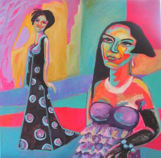 GLAMOUR FASHION VERONIQUE OF PARTY by Raquel Sarangello