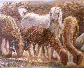 Pasture by Sylva Zalmanson