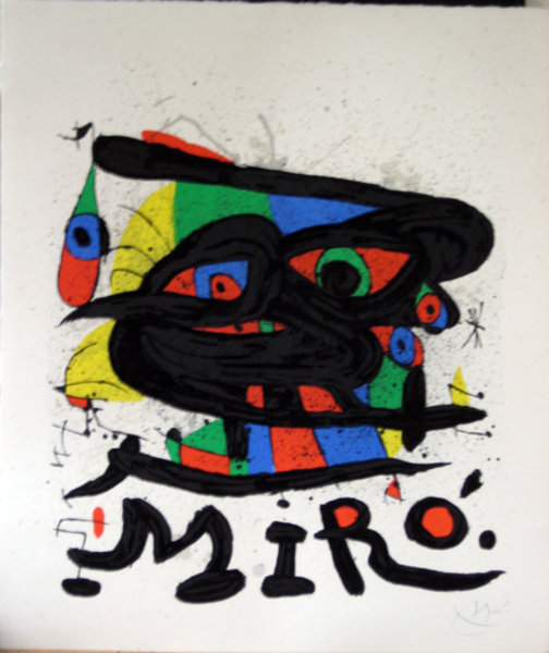 His Most Famous Painting (Harlequin's Carnival) - Joan Miro