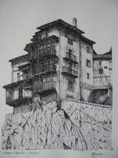 E-3- Casas Colgantes - Cuenca de Romano Aira