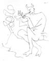 Le Faune Flutiste by Pablo Picasso