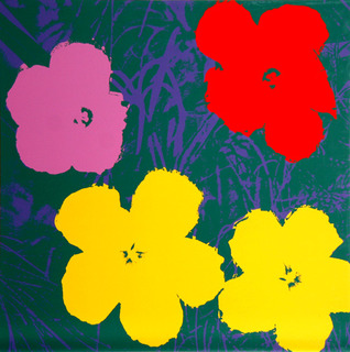 Flowers III by Andy Warhol