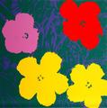 Flowers III by Andy Warhol