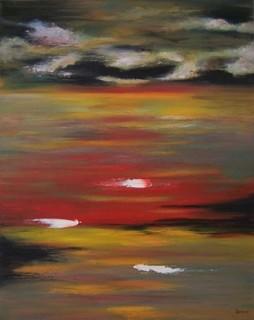 Red Pleasure Sunrise by Scott Andrew Spencer