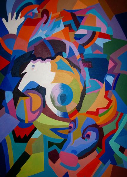 The heart of a bullfighter by Inga Erina