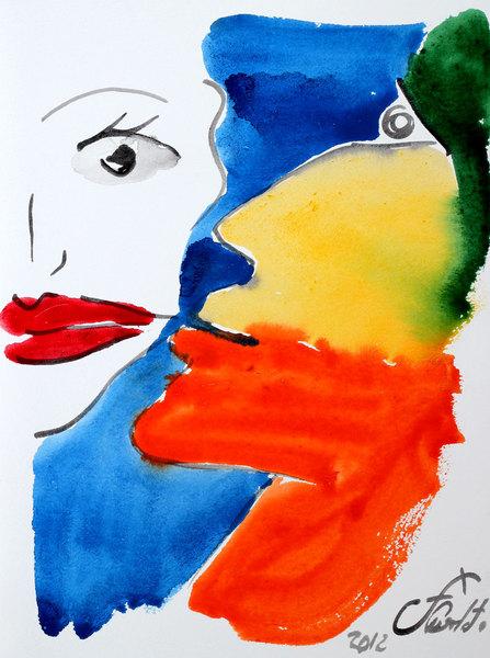 THE KISS 22 by Jorge Berlato