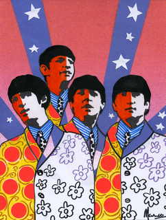 The Beatles moments series 14 - 60s USA tour by Marco Mark
