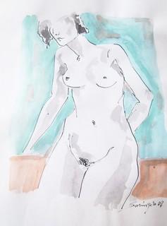 NUDE MARIE by Raquel Sara Sarangello