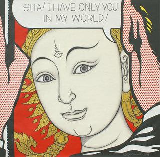 Sita! I have only you in my World! by Jirapat Tatsanasomboon