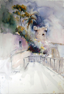 Nervi - Italy by Juan Félix Campos