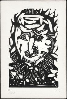 Tete d'Homme Barbu by Pablo Picasso