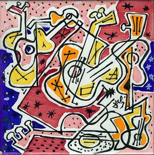 Les Guitares by Salvador Dalí