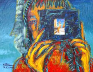Venus with Thai Postcard (2) by Kritsana Chaikitwattana