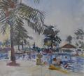 Swimming Pool by Anthony Eyton