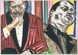 Oscar Peterson by Frederick Brown