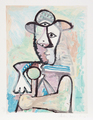 Buste d' Homme by Picasso Estate Collection