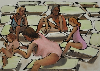 Chaise longue by Hilary Senhanli